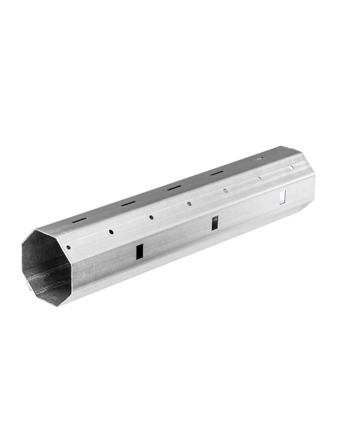 Stahlwelle Rollladenwelle SW 60// SW 40  8-kant 0,6mm Wandstärke
